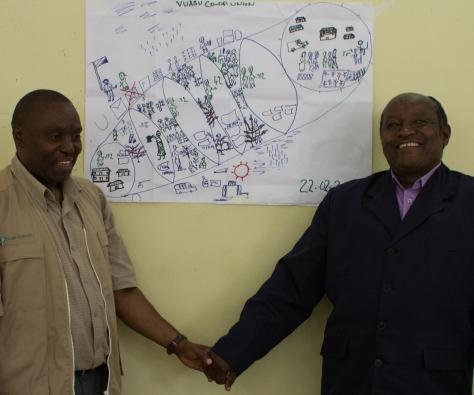 Vice Chair of Vuasu presents the Vuasu Vision Journey Plan.